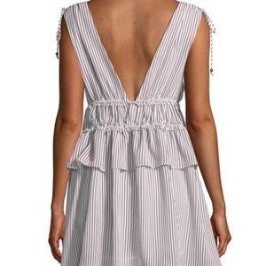 Line & Dot Dresses - New Line & Dot Striped Tie-Shoulder Mini Dress
